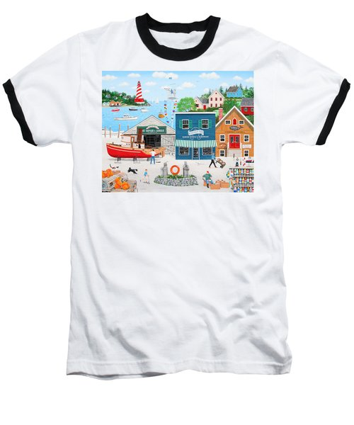 Where The Buoys Are Baseball T-Shirt