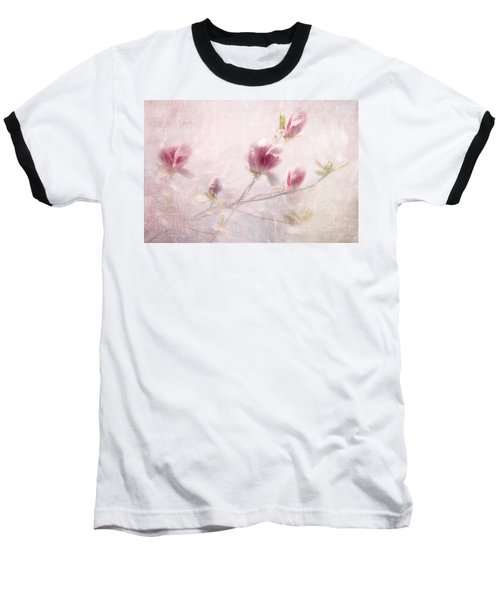 Baseball T-Shirt featuring the photograph Whisper Of Spring by Annie Snel