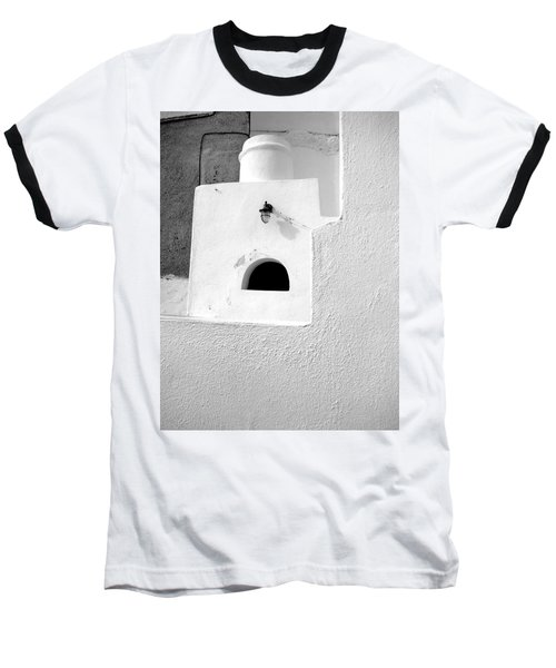 Baseball T-Shirt featuring the photograph White Abstract by Ana Maria Edulescu