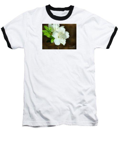 White Azalea  Baseball T-Shirt