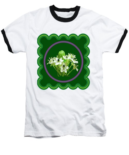 White Bunch Bud Flower Floral Posters Photography And Graphic Fusion Art Navinjoshi Fineartamerica P Baseball T-Shirt