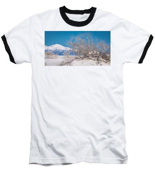 White Desert Baseball T-Shirt