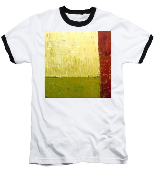 White Green And Red Baseball T-Shirt