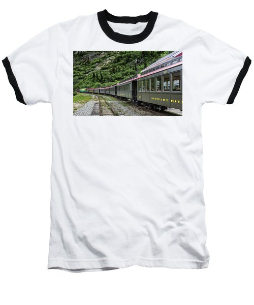 White Pass And Yukon Railway Baseball T-Shirt