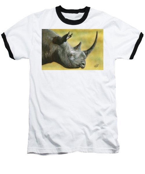 White Rhino Baseball T-Shirt