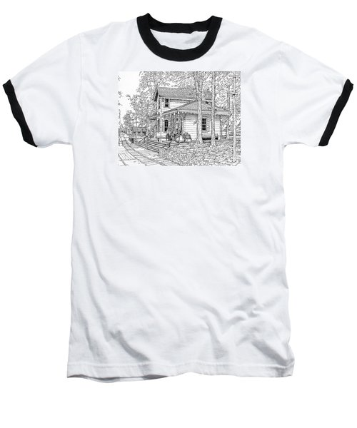 Whitehall Station Bryn Mawr Pennsylvania Baseball T-Shirt