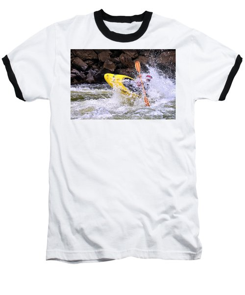 Whitewater On The New River Baseball T-Shirt