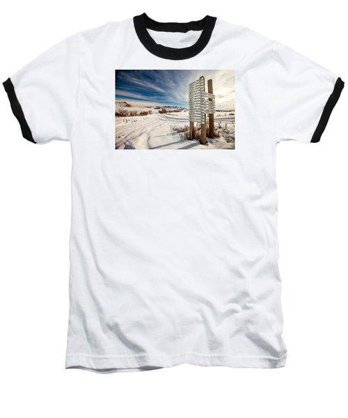 Who Lives Where Baseball T-Shirt