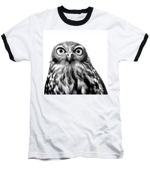 Whoo You Callin A Wise Guy Baseball T-Shirt