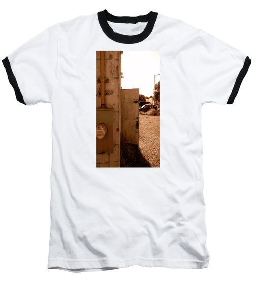 Baseball T-Shirt featuring the photograph Wide Open by Steve Sperry