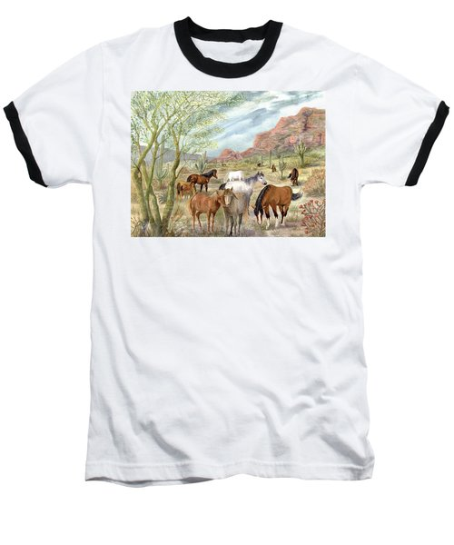 Wild And Free Forever Baseball T-Shirt
