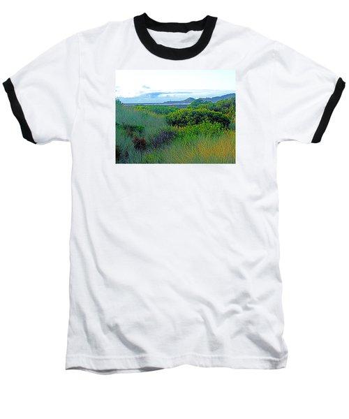 Wild Coastal Flora Baseball T-Shirt