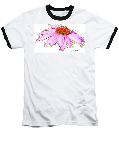 Wild Flower Three Baseball T-Shirt by Heidi Smith