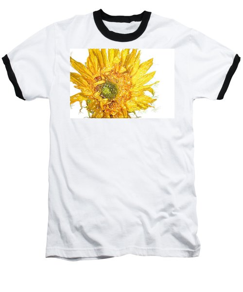 Baseball T-Shirt featuring the photograph  Wild Flower Two  by Heidi Smith