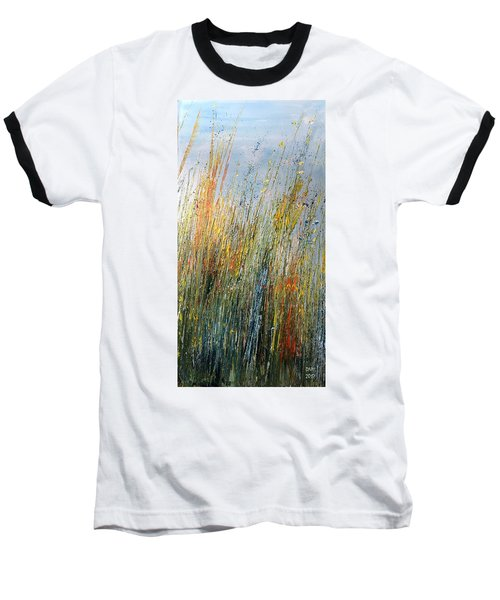 Wild Flowers And Hay Baseball T-Shirt