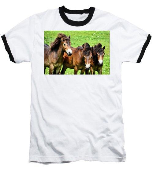 Wild Horses 2 Baseball T-Shirt