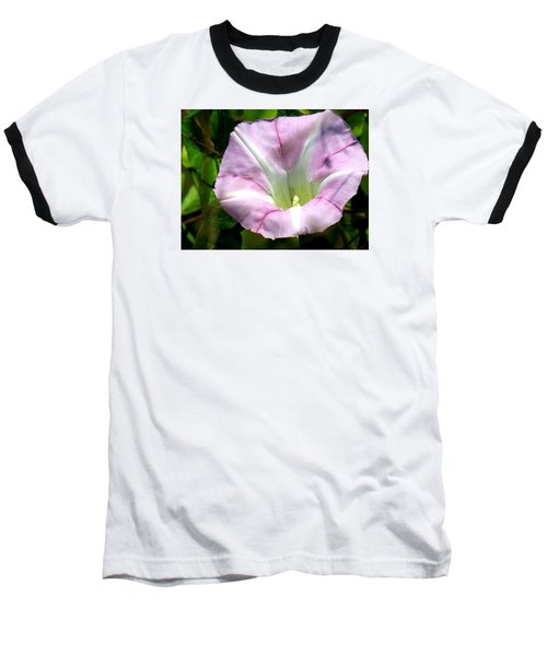 Wild Morning Glory Baseball T-Shirt