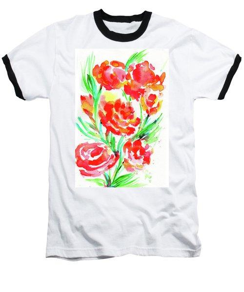 Wild Reds  Baseball T-Shirt