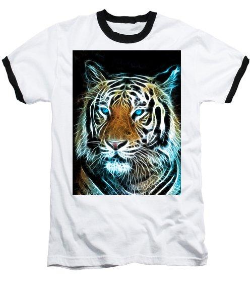 Baseball T-Shirt featuring the digital art Wild Thang by Karen Showell