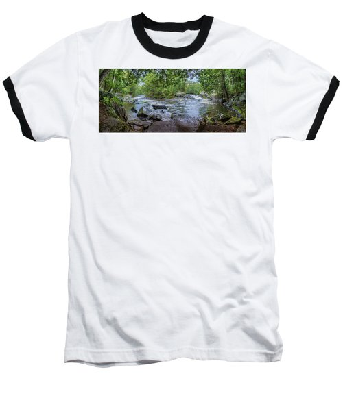 Wilderness Waterway Baseball T-Shirt by Bill Pevlor