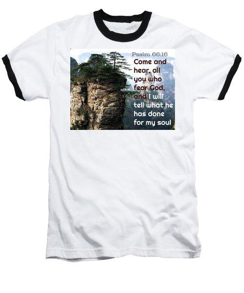 Will Do All For All Baseball T-Shirt