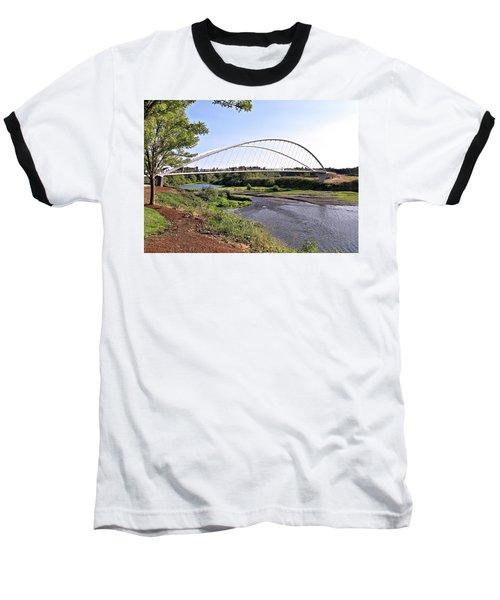 Willamette Pedestrian Bridge Baseball T-Shirt