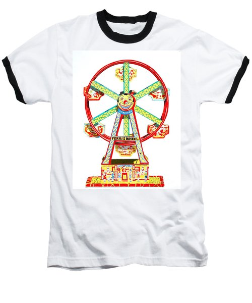 Wind-up Ferris Wheel Baseball T-Shirt