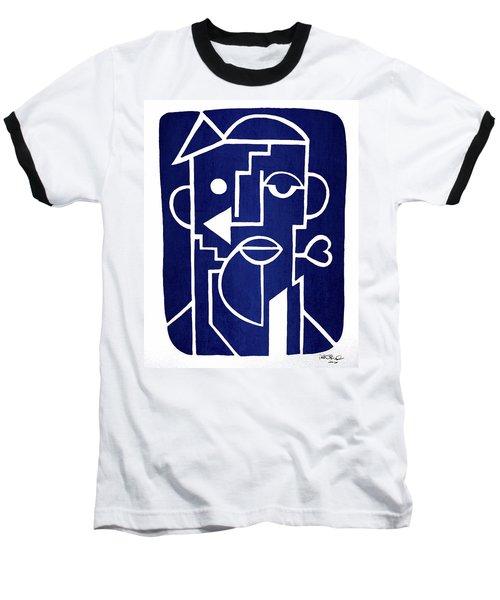 Wind Up Man By Erod Art Baseball T-Shirt