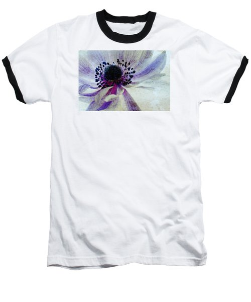 Windflower Baseball T-Shirt by AugenWerk Susann Serfezi