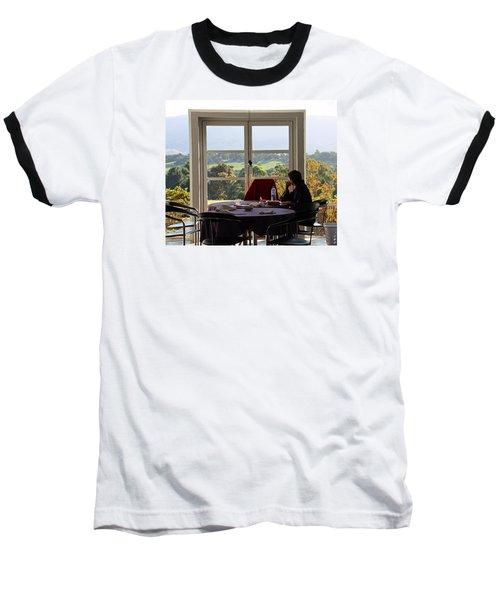 Window To The World Baseball T-Shirt