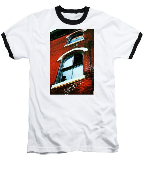 Baseball T-Shirt featuring the photograph Windows by Christopher Woods