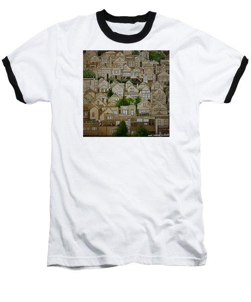Windows Of Bernal Heights Baseball T-Shirt