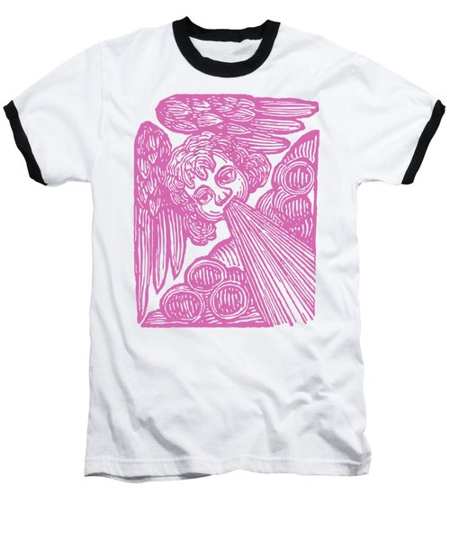 Baseball T-Shirt featuring the drawing Winds Tess by Edward Fielding