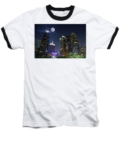 Windy City Baseball T-Shirt by Frozen in Time Fine Art Photography