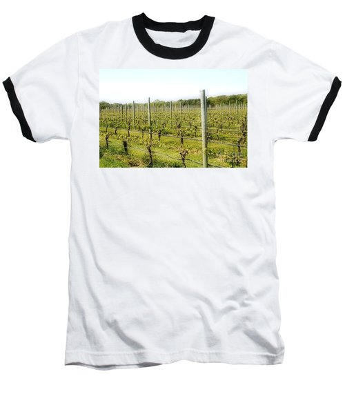 Wineries, Long Island, Ny Baseball T-Shirt