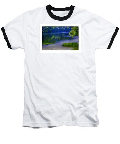 Wings Baseball T-Shirt by R Thomas Berner