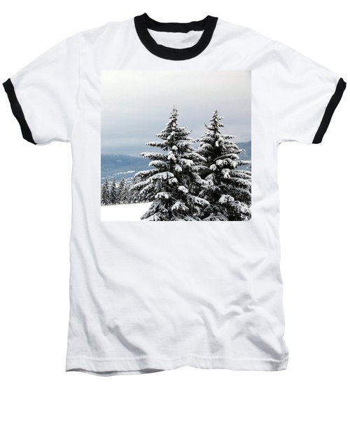 Baseball T-Shirt featuring the photograph Winter Bliss by Will Borden