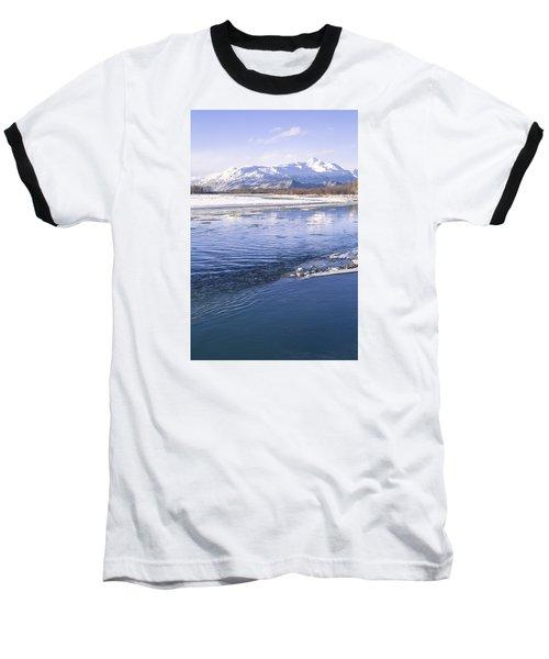 Winter Blues Baseball T-Shirt