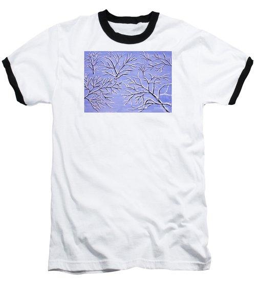 Winter Branches, Painting Baseball T-Shirt