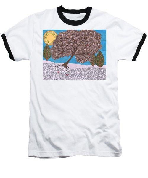 Winter Calm Baseball T-Shirt