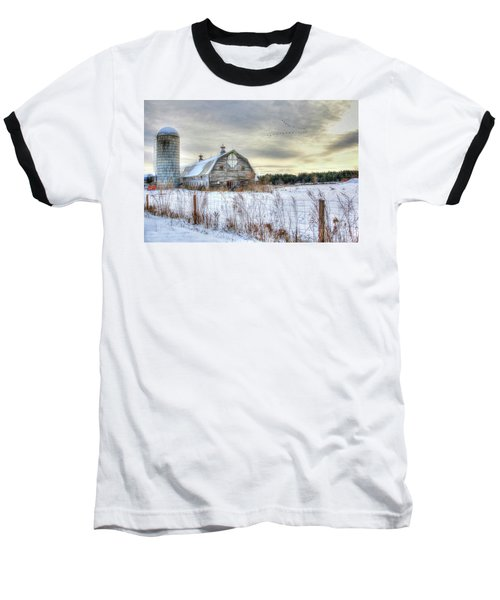 Winter Days In Vermont Baseball T-Shirt