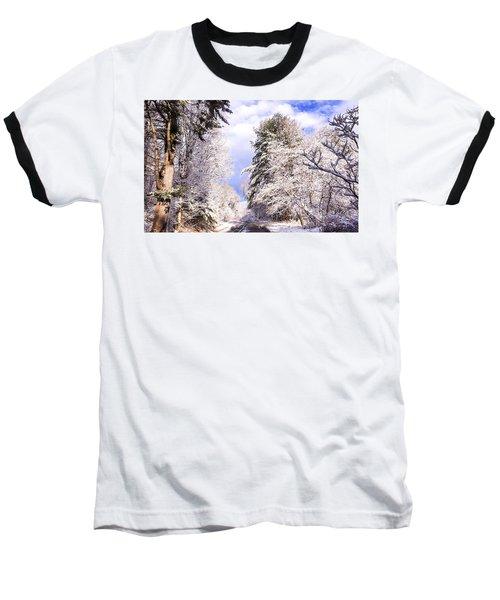 Winter Drive Baseball T-Shirt