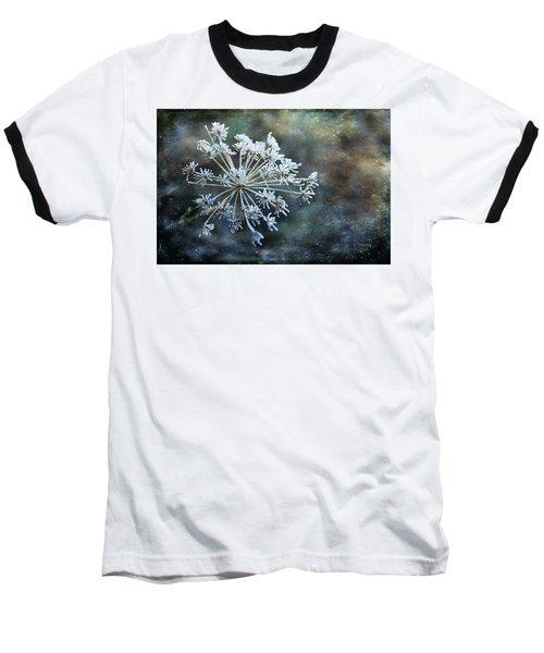 Winter Flower Baseball T-Shirt