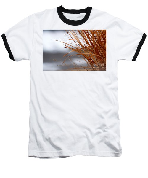 Winter Grass - 2 Baseball T-Shirt