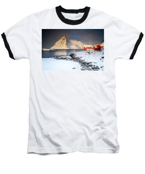 Winter In Lofoten Baseball T-Shirt