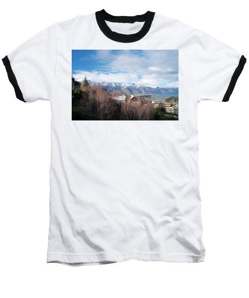 Winter In Queenstown Baseball T-Shirt