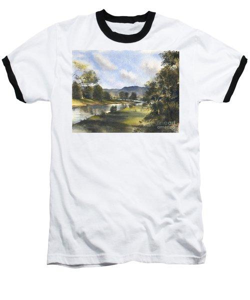 Winter In The Bellinger Valley Baseball T-Shirt