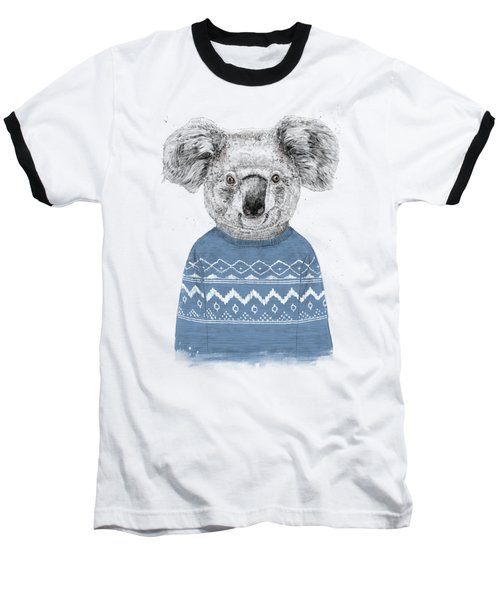 Winter Koala Baseball T-Shirt