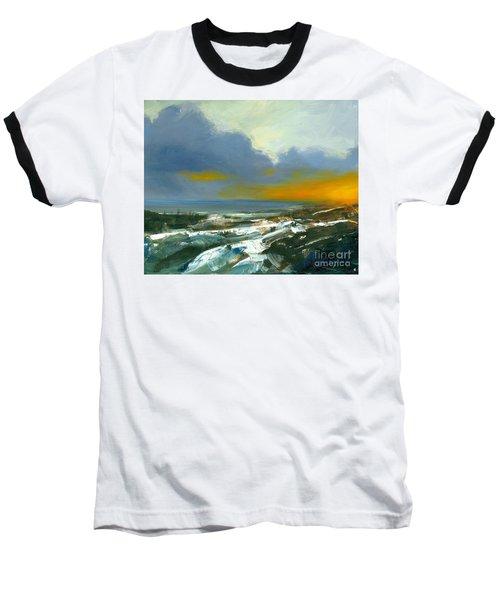 Winter Lake View Baseball T-Shirt