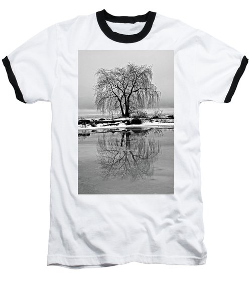 Winter Reflections Baseball T-Shirt